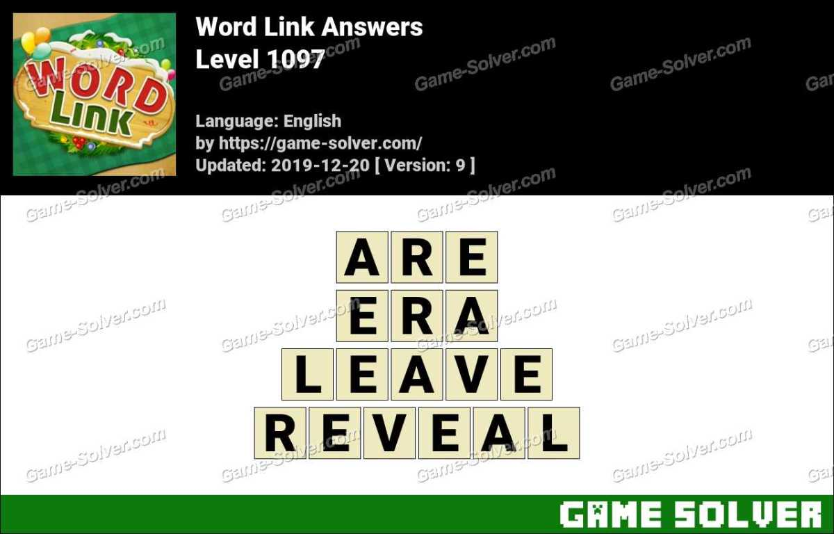 Word Link Level 1097 Answers