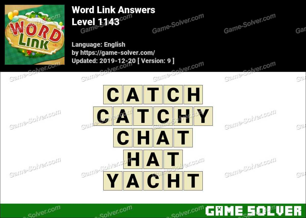 Word Link Level 1143 Answers