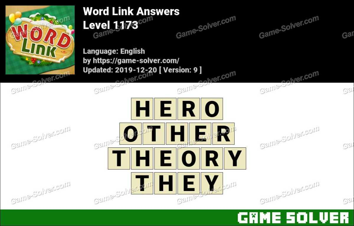 Word Link Level 1173 Answers