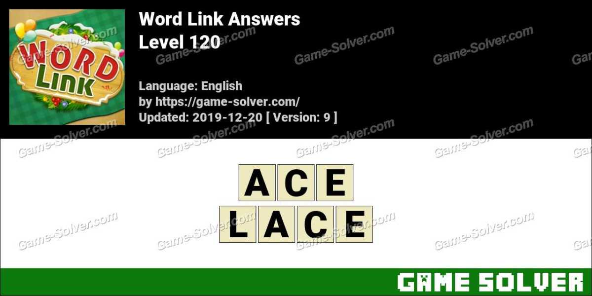 Word Link Level 120 Answers