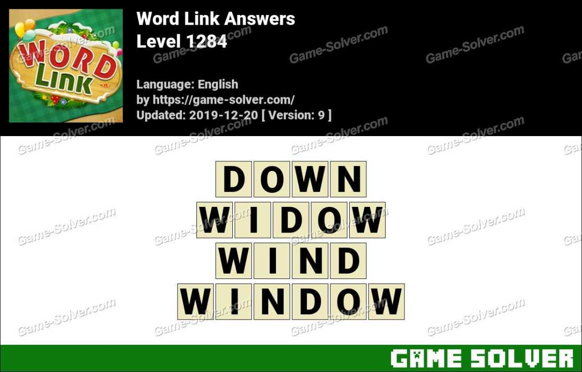 Word Link Level 1284 Answers