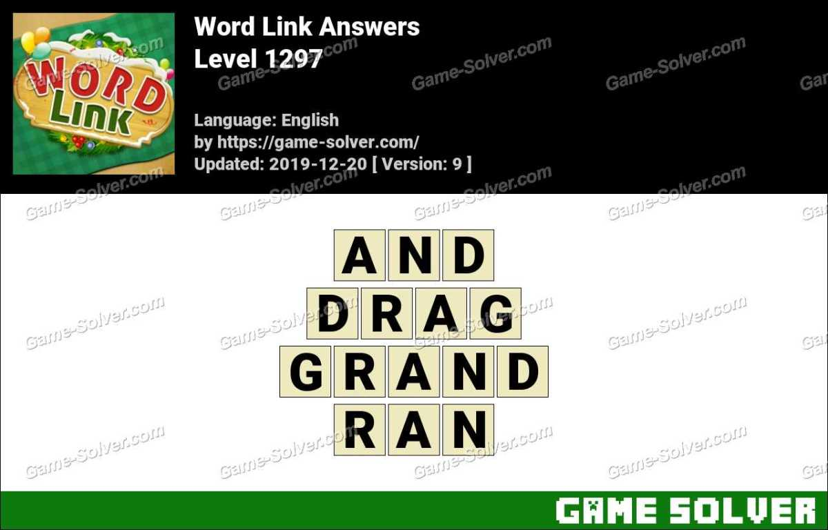 Word Link Level 1297 Answers