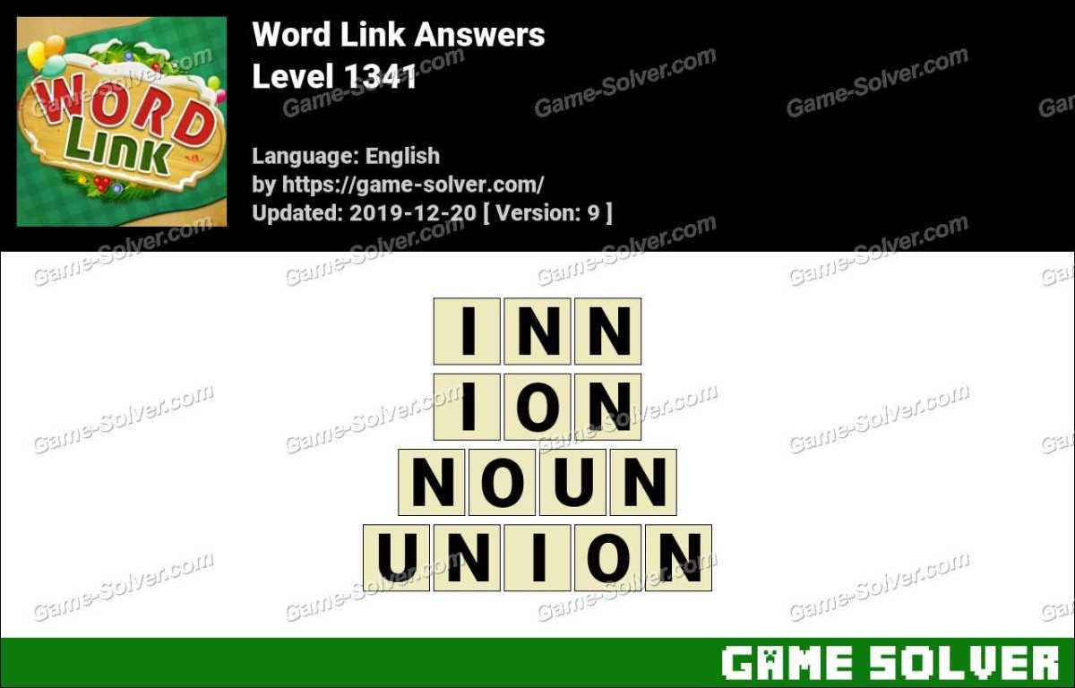 Word Link Level 1341 Answers