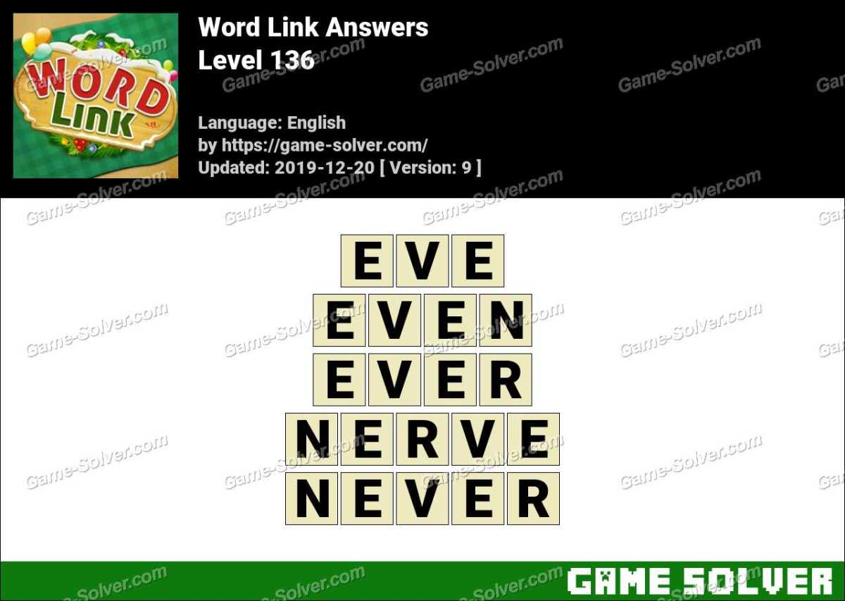 Word Link Level 136 Answers