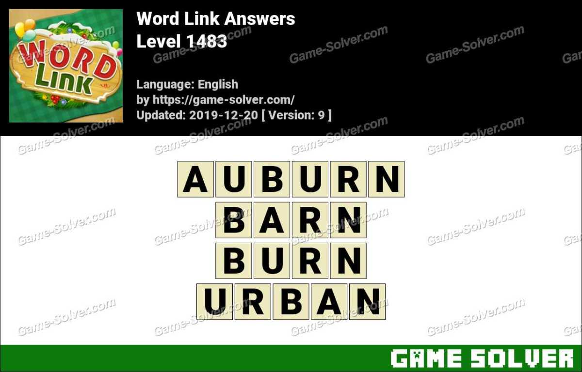 Word Link Level 1483 Answers