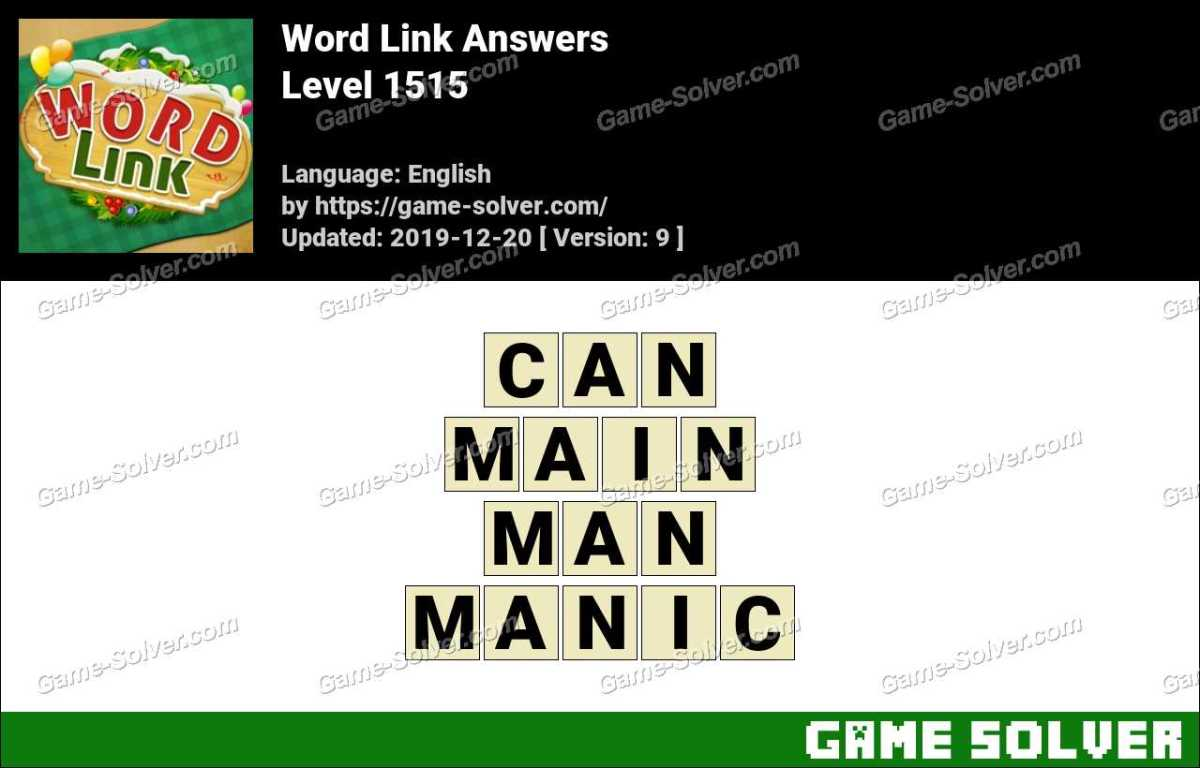 Word Link Level 1515 Answers