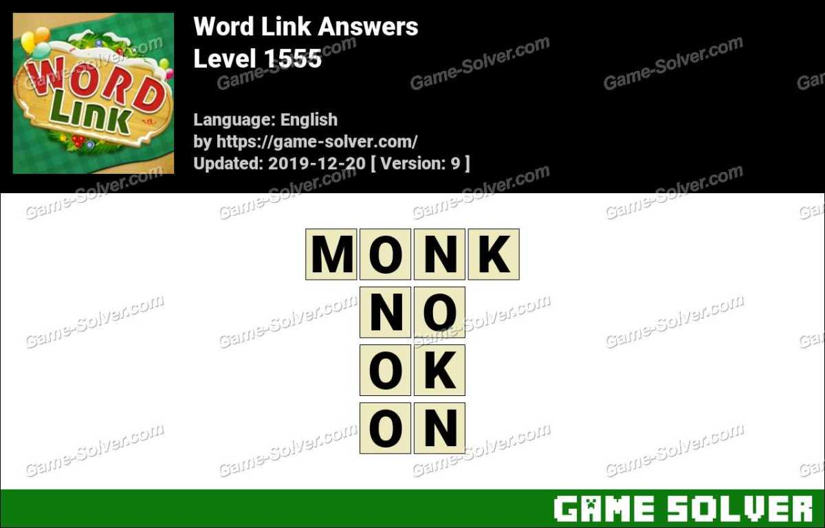 Word Link Level 1555 Answers