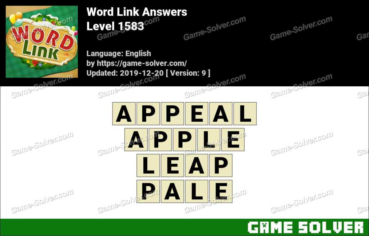 Word Link Level 1583 Answers