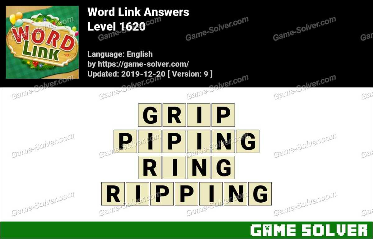 Word Link Level 1620 Answers