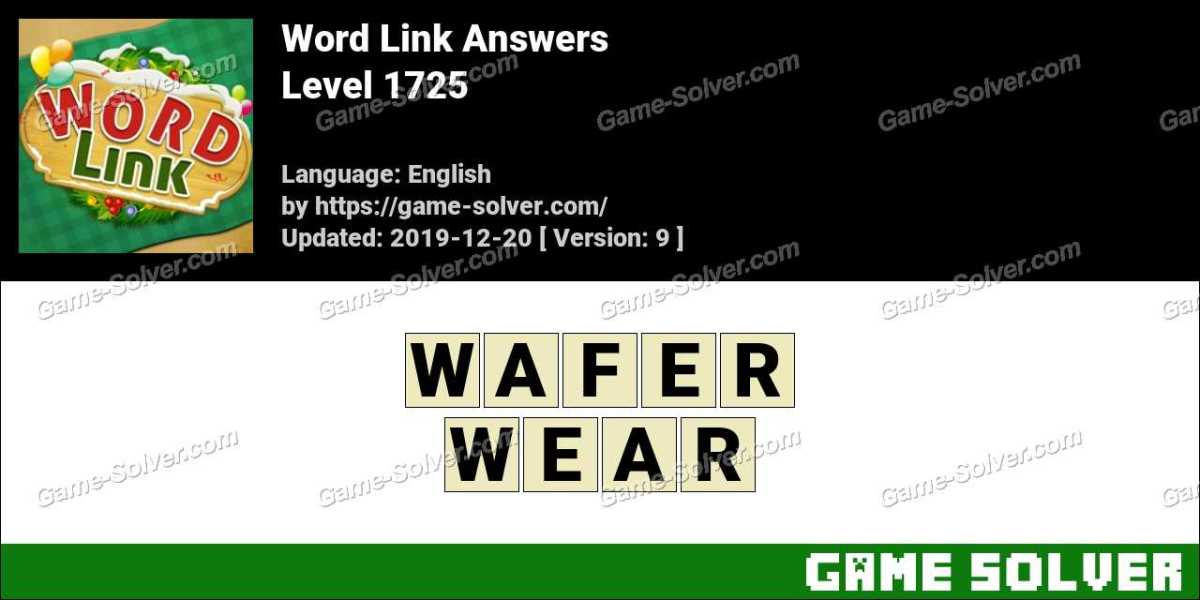 Word Link Level 1725 Answers