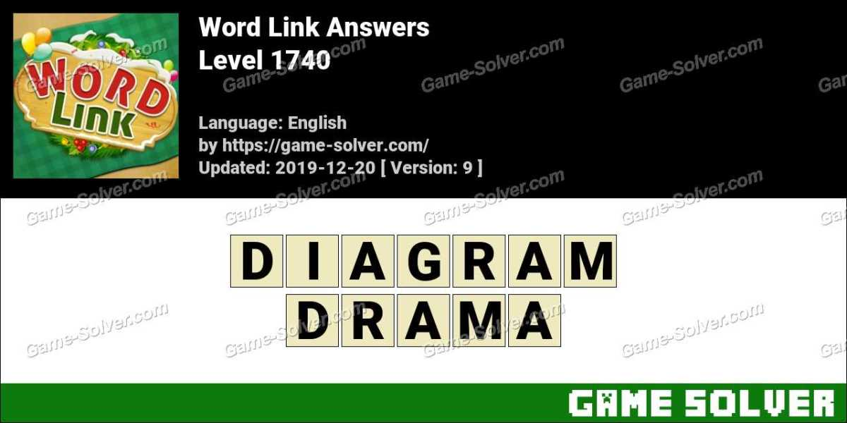 Word Link Level 1740 Answers