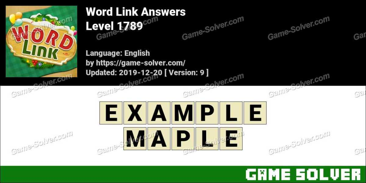 Word Link Level 1789 Answers