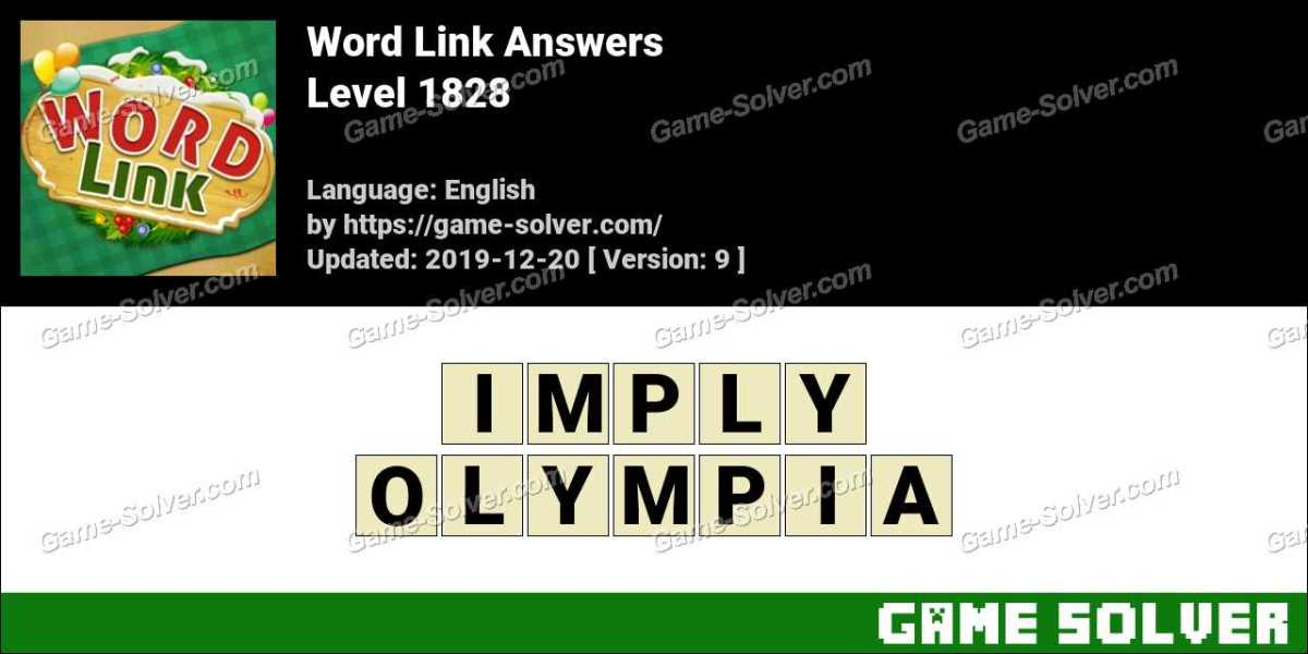 Word Link Level 1828 Answers