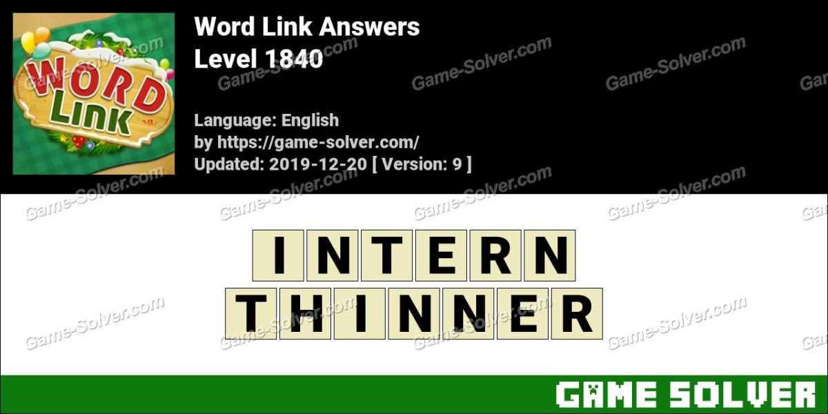 Word Link Level 1840 Answers