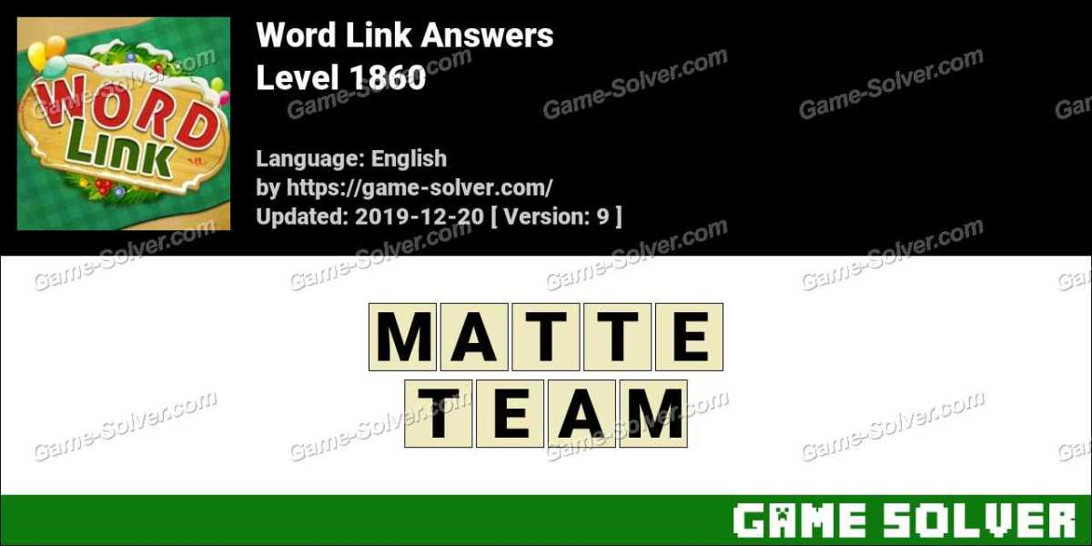 Word Link Level 1860 Answers