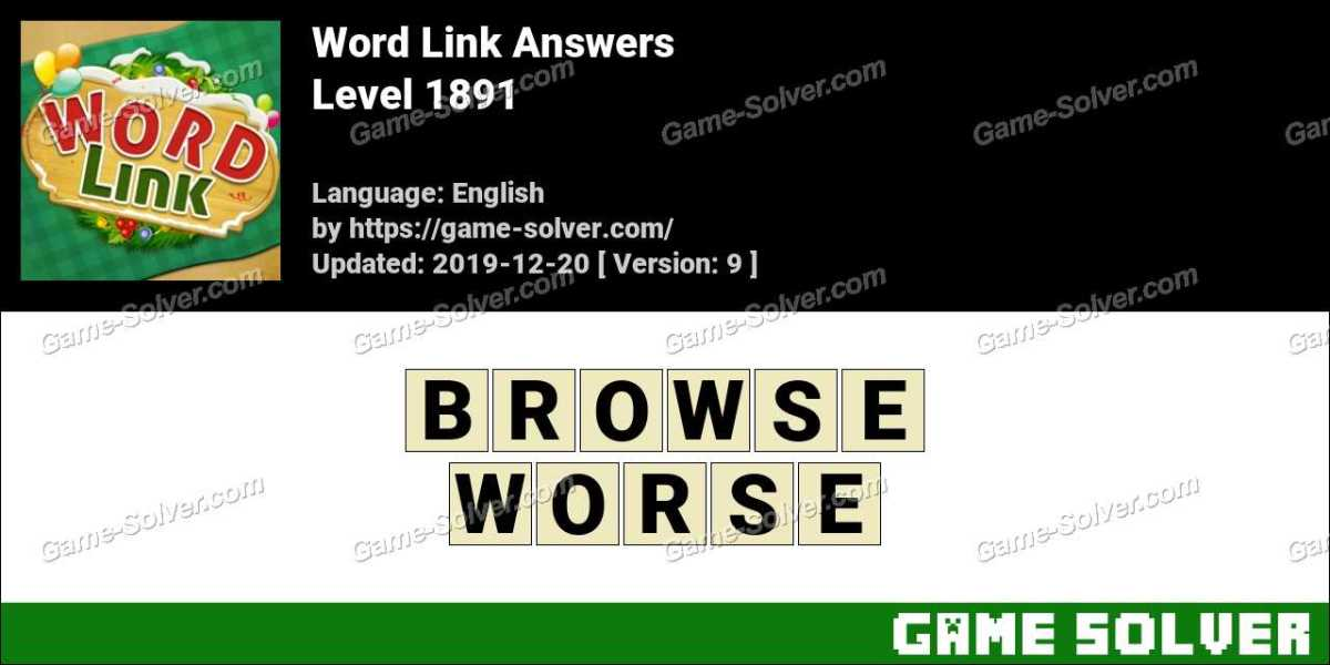 Word Link Level 1891 Answers