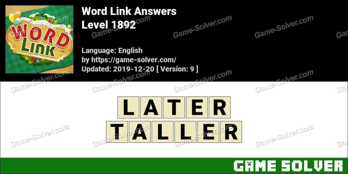 Word Link Level 1892 Answers