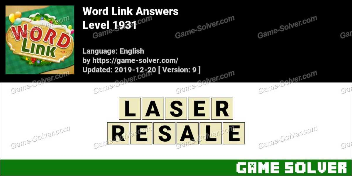Word Link Level 1931 Answers