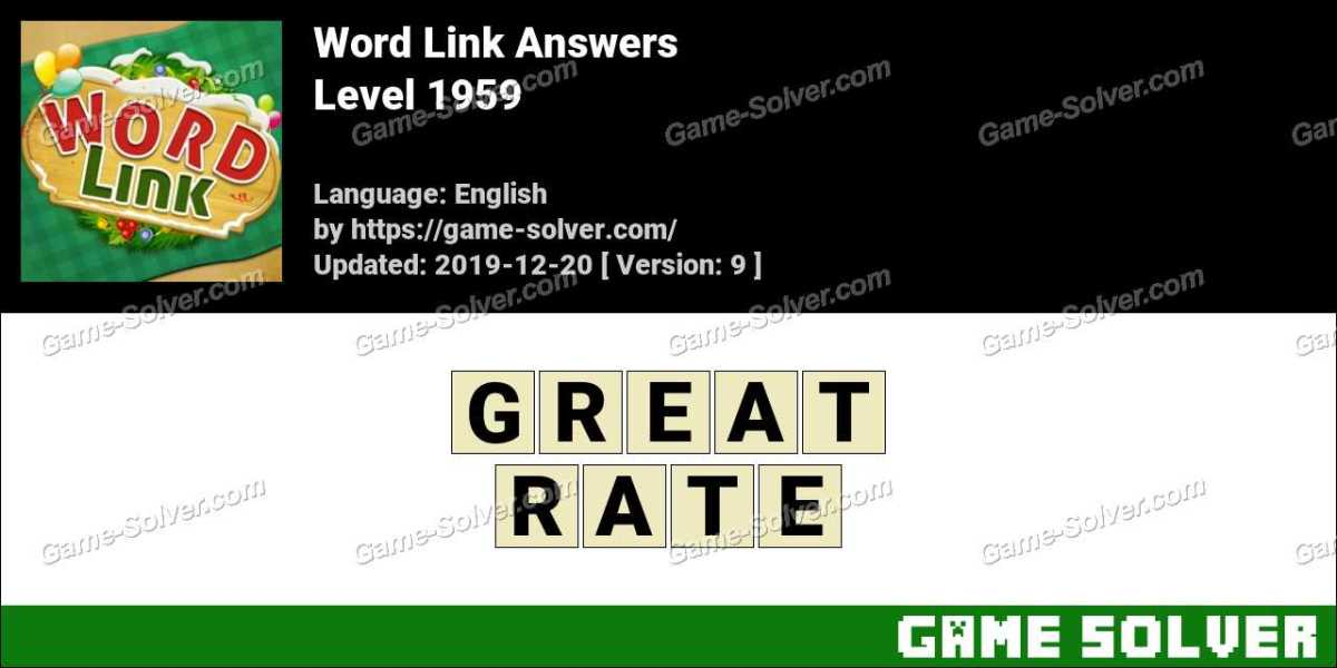 Word Link Level 1959 Answers