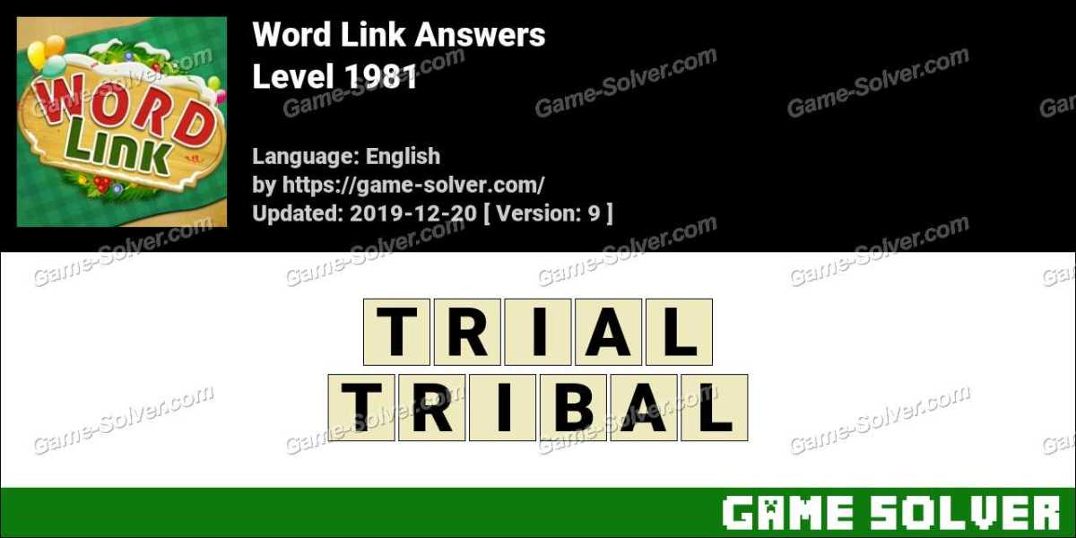 Word Link Level 1981 Answers