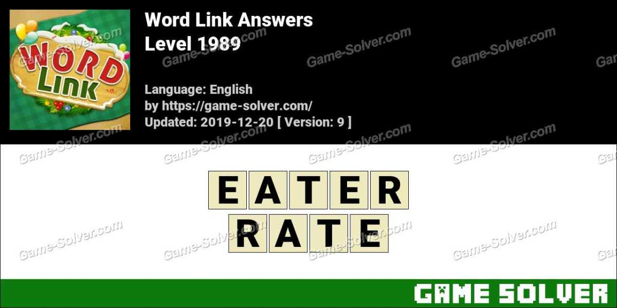 Word Link Level 1989 Answers
