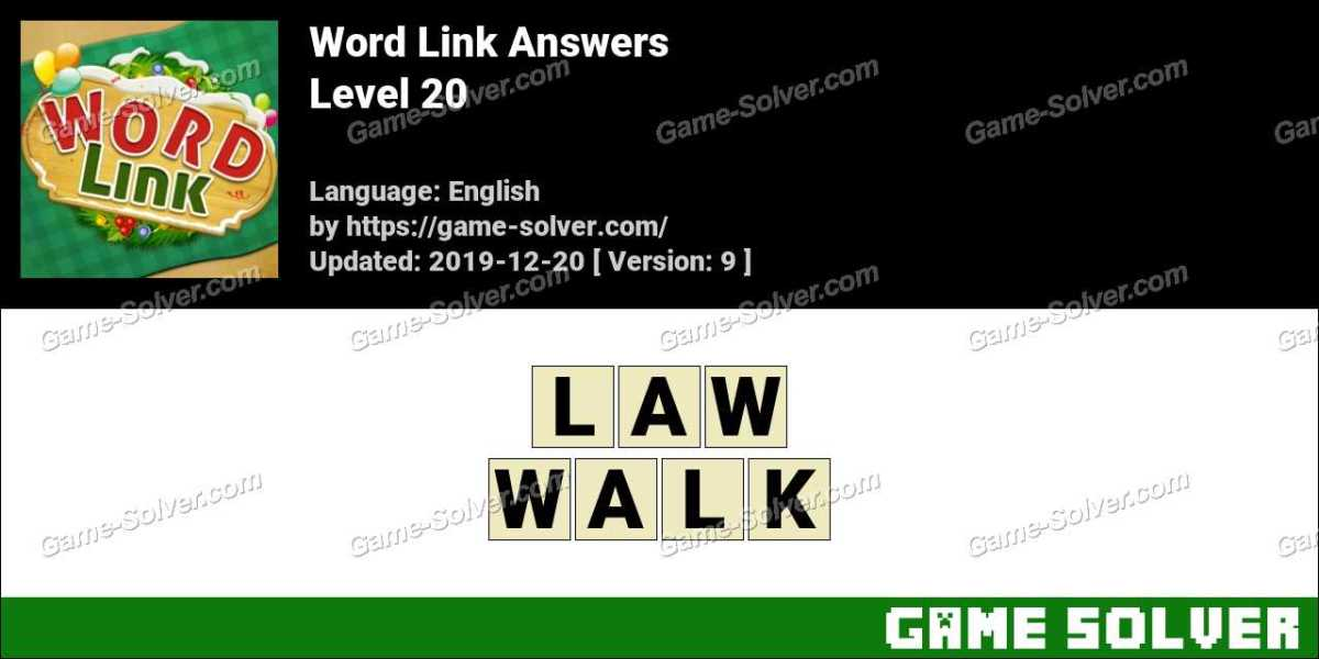 Word Link Level 20 Answers