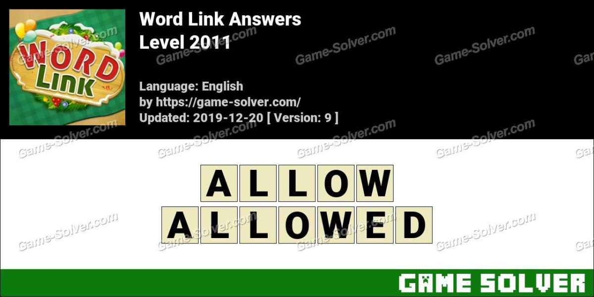 Word Link Level 2011 Answers
