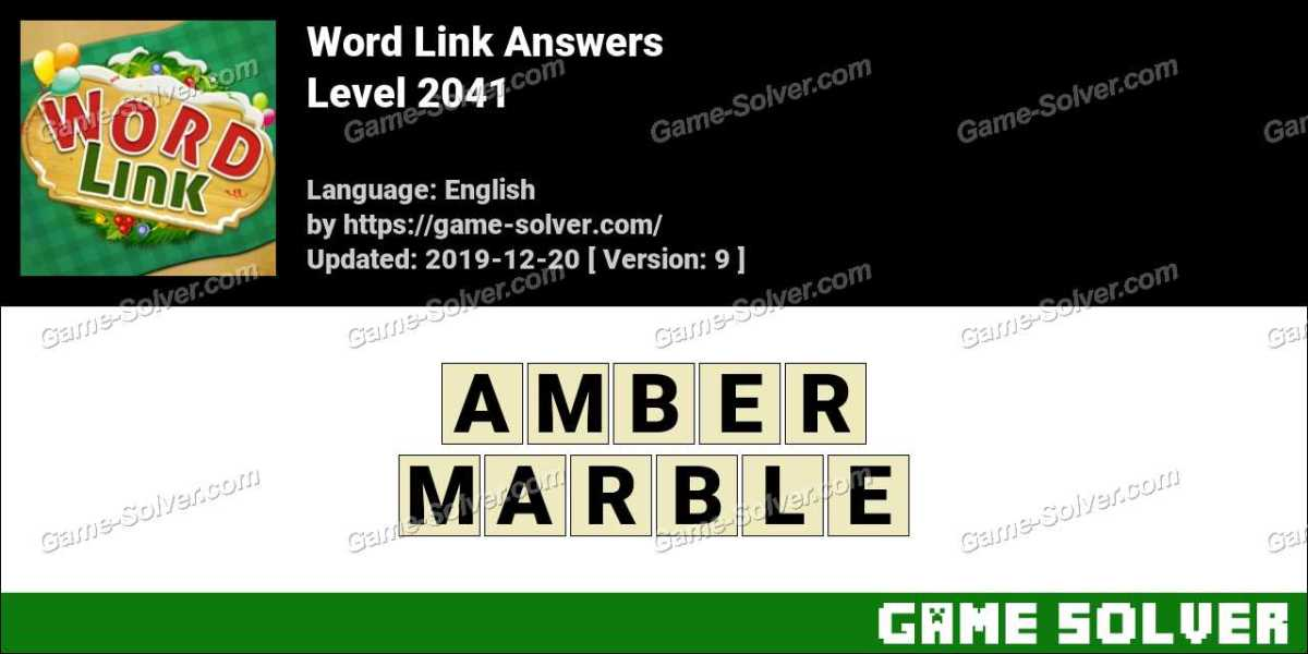 Word Link Level 2041 Answers
