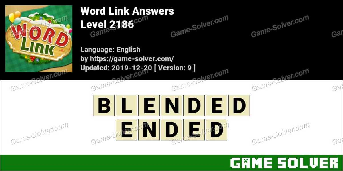 Word Link Level 2186 Answers