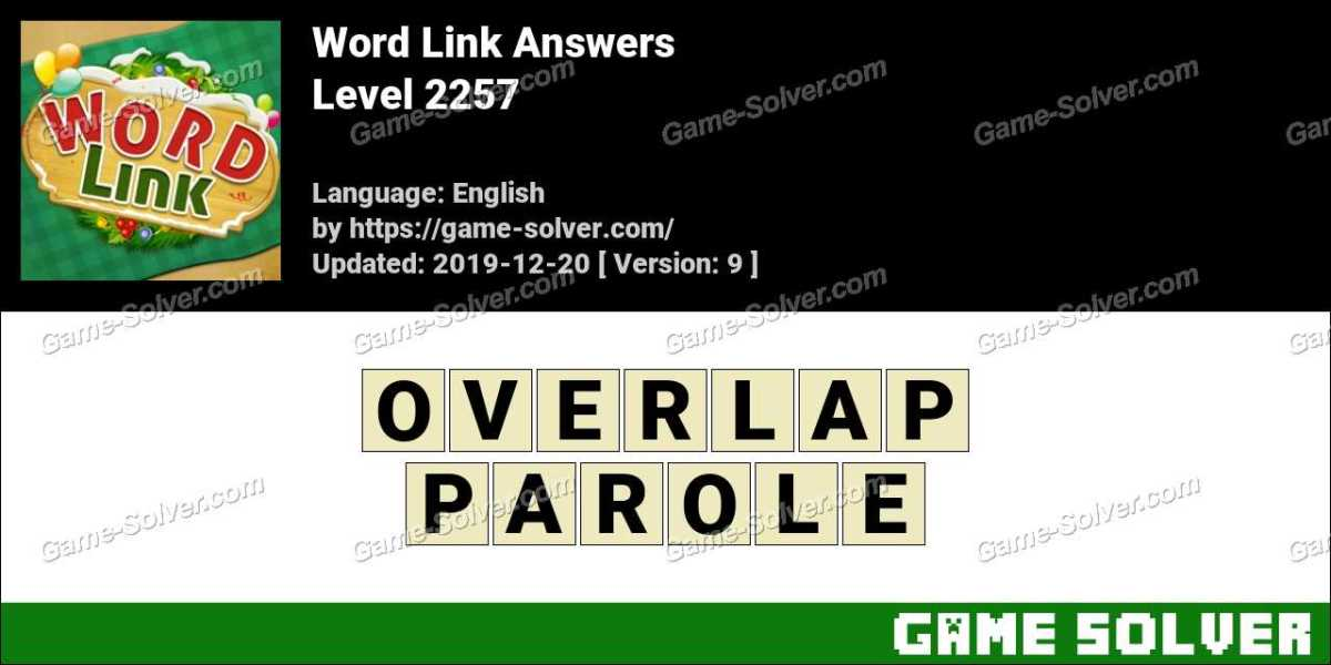 Word Link Level 2257 Answers
