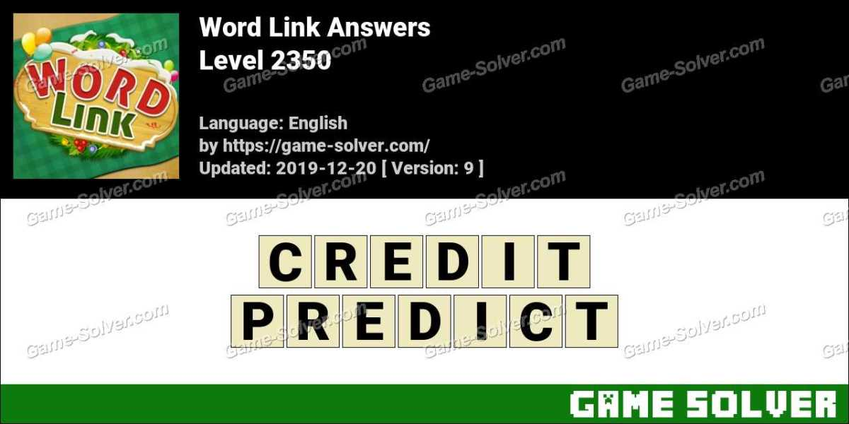 Word Link Level 2350 Answers