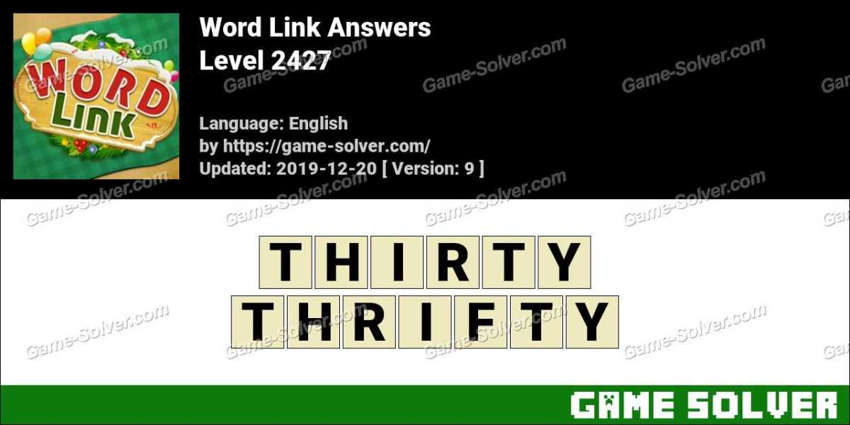 Word Link Level 2427 Answers