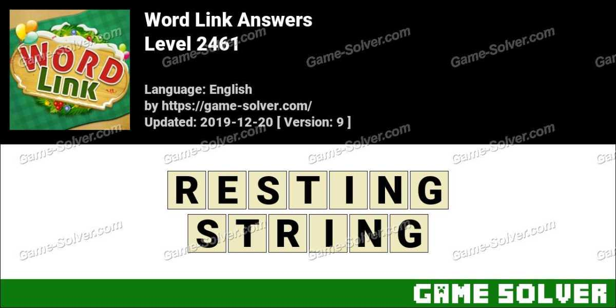 Word Link Level 2461 Answers
