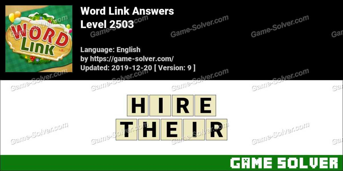Word Link Level 2503 Answers