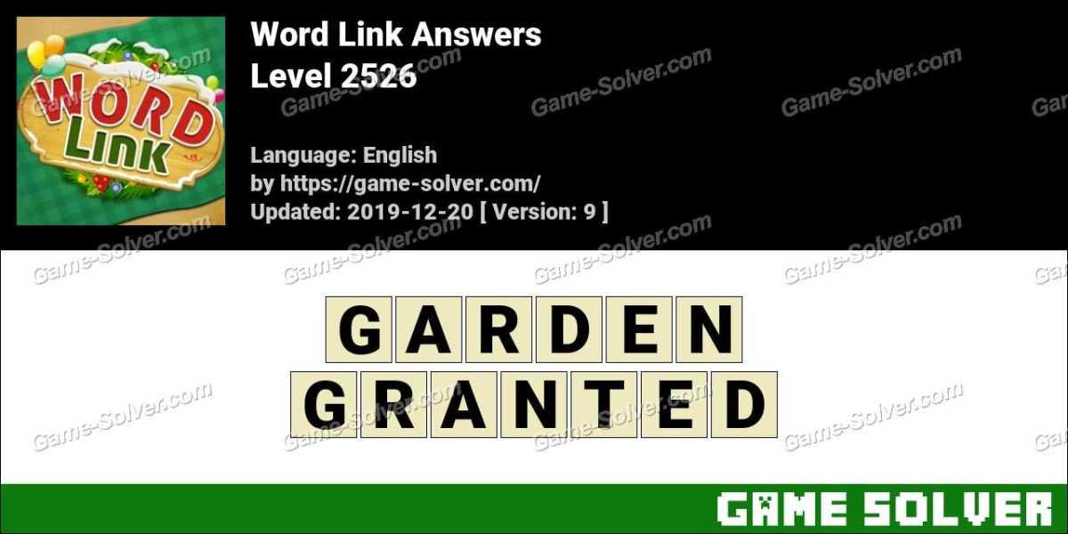 Word Link Level 2526 Answers