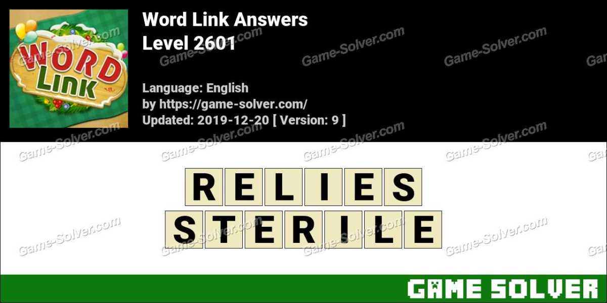Word Link Level 2601 Answers