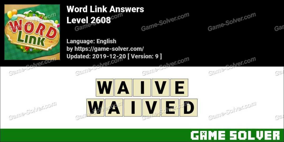 Word Link Level 2608 Answers