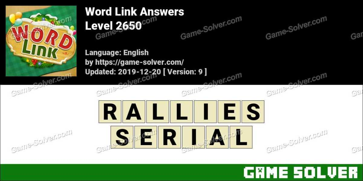 Word Link Level 2650 Answers