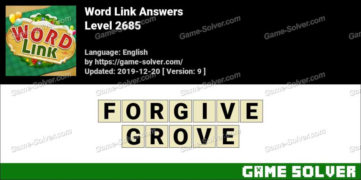 Word Link Level 2685 Answers