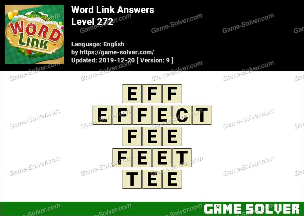 Word Link Level 272 Answers