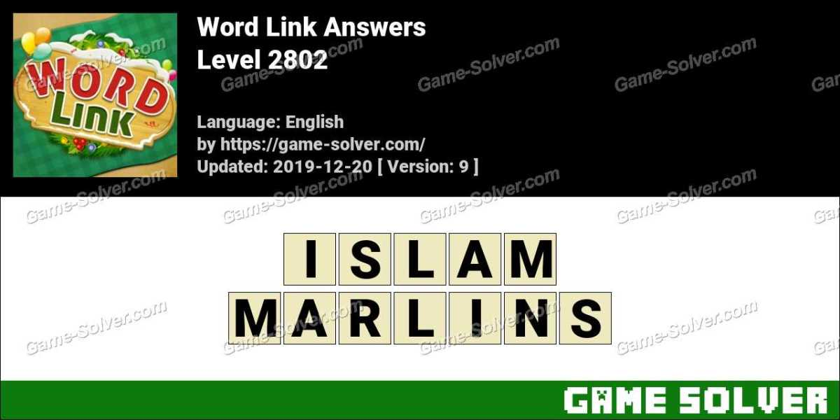 Word Link Level 2802 Answers