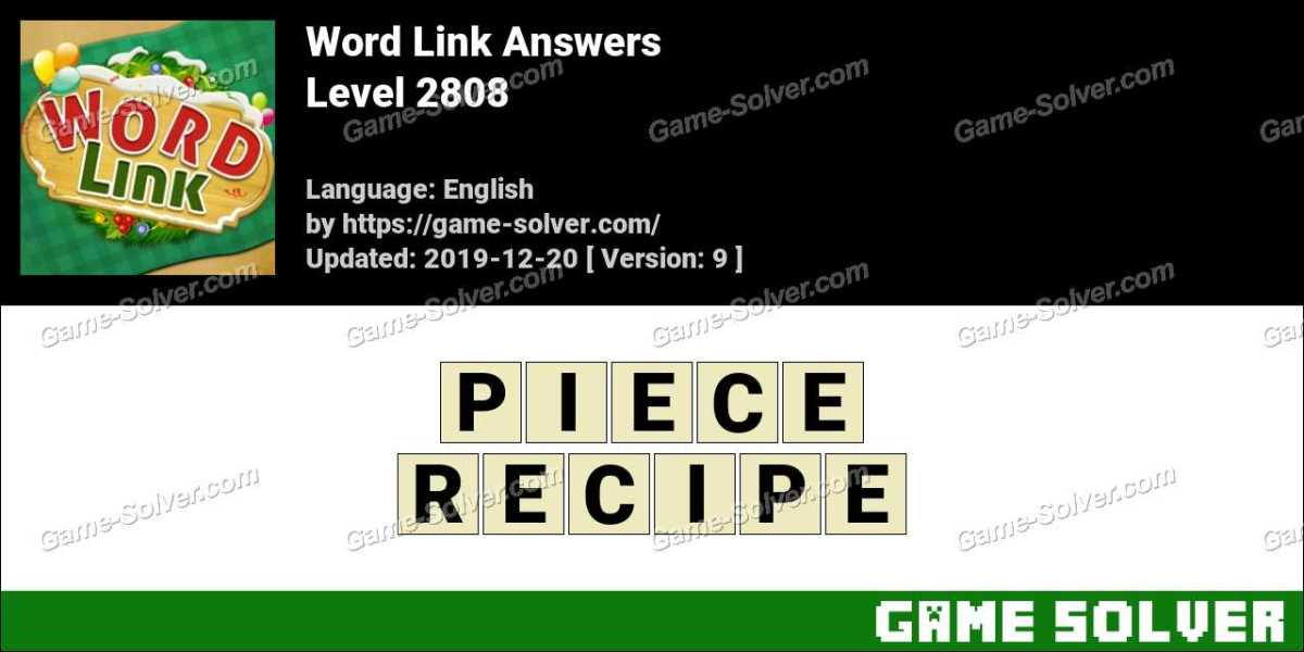 Word Link Level 2808 Answers