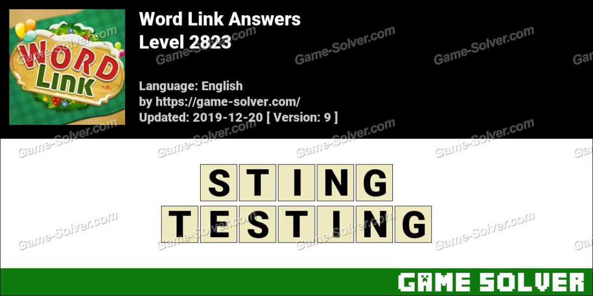 Word Link Level 2823 Answers