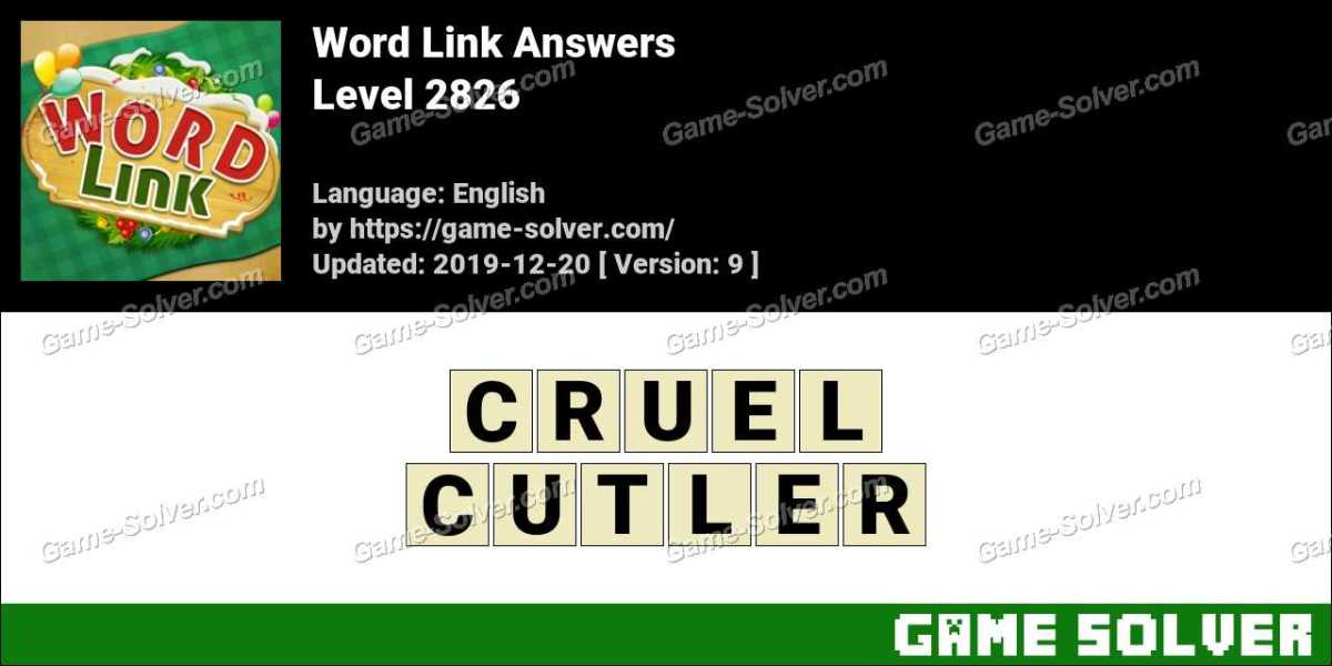 Word Link Level 2826 Answers