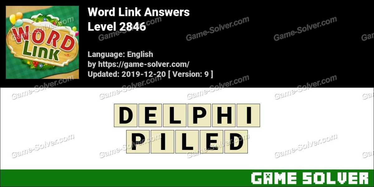 Word Link Level 2846 Answers