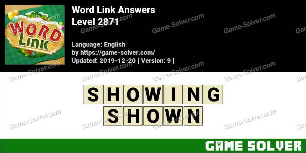 Word Link Level 2871 Answers