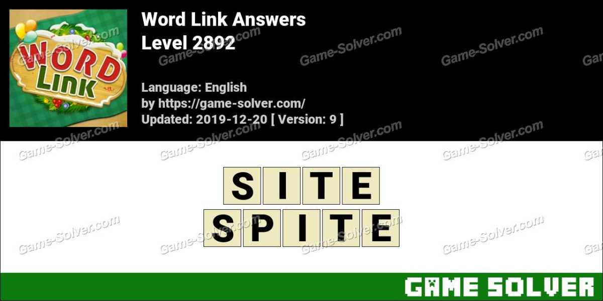 Word Link Level 2892 Answers