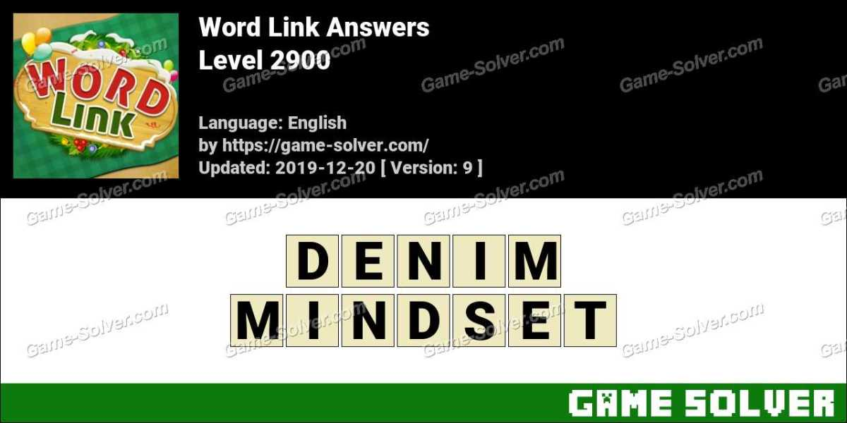 Word Link Level 2900 Answers