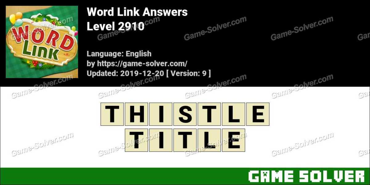 Word Link Level 2910 Answers