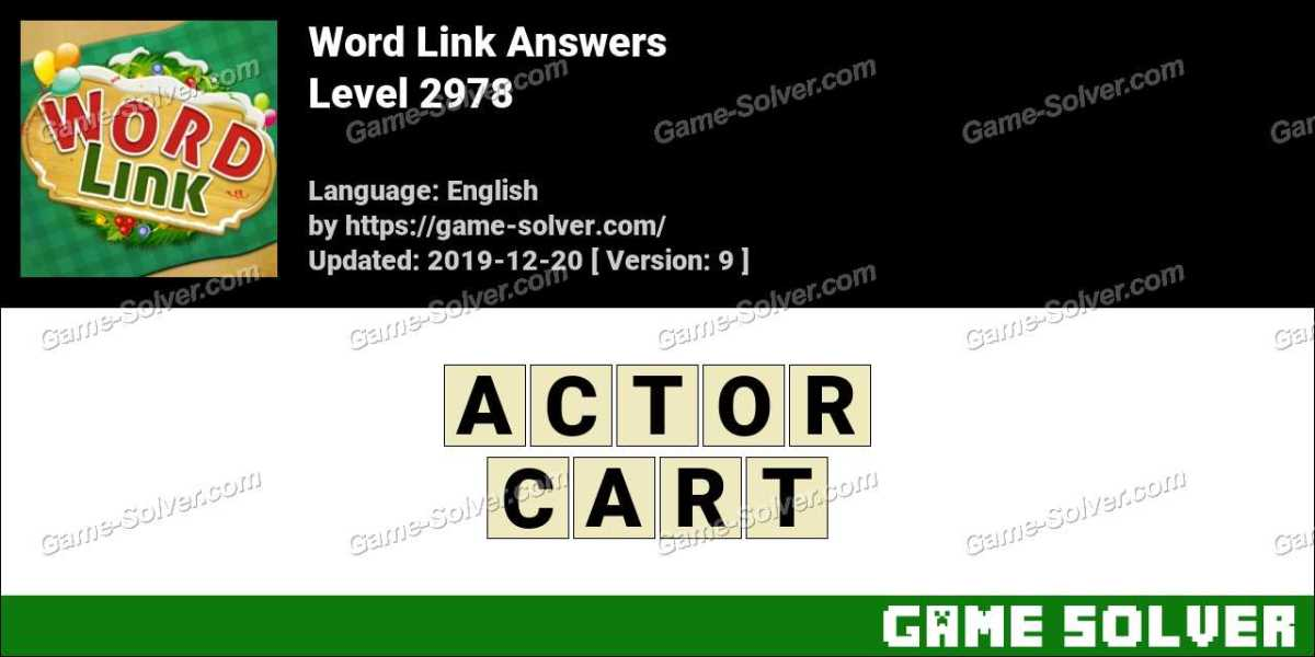 Word Link Level 2978 Answers